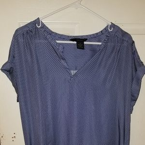 100% polyester so so soft dress shirt